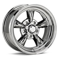 American Racing Authentic Hot Rod VN515 Torq Thrust II 1 PC Bright PVD Wheels