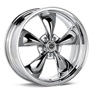 American Racing Authentic Hot Rod AR605 Torq-Thrust M Chrome Plated Wheels