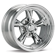 American Racing Authentic Hot Rod VN515 Torq Thrust II 1 PC Polished Wheels