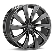 Axis MS Titanium Gunmetal Wheels