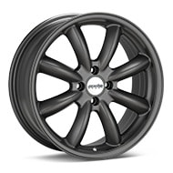 Axis Sport XT Matte Graphite Silver Wheels