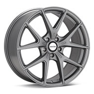 Axis Sport XR Matte Graphite Silver Wheels