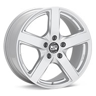 MSW Type 55 Silver Painted Wheels