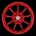 O.Z. Alleggerita HLT Red Painted Wheels