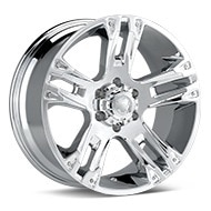 Ultra Maverick Chrome Plated Wheels