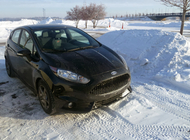 Don't Let a Little Snow Stop Your Ford Fiesta ST