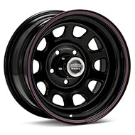 American Racing AR767 Steel Black Painted Wheels