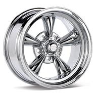 American Racing Authentic Hot Rod VN605 Torq-Thrust D Chrome Plated Wheels