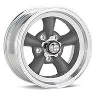 American Racing Authentic Hot Rod VN105 Torq-Thrust D Anthracite w/Mach Lip Wheels