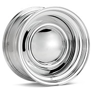 American Racing Authentic Hot Rod VN31 Smoothie Steel Chrome Plated Wheels