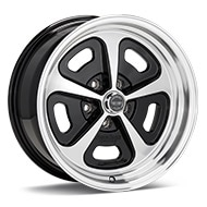 American Racing Authentic Hot Rod VN501 500 Mono Cast Machined w/Black Accent Wheels