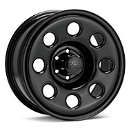 Black Rock 937 Type 8P Steel Black Painted Wheels