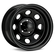 Black Rock 997 Type 8 Steel 15x8 Black Painted Wheels