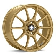 Sparco Assetto Gara Gold Painted Wheels