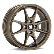 Sparco Trofeo 4 Bronze Painted Wheels