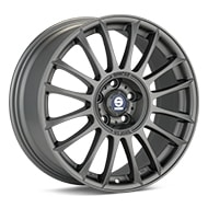 Sparco Pista Light Grey Painted Wheels