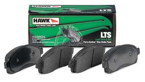Replace Brake Pads with Hawk