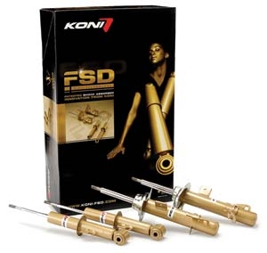 Great Handling with KONI FSD Damper Set