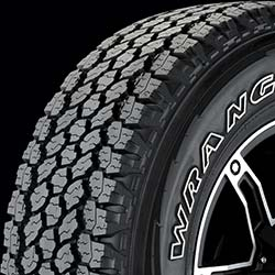 Goodyear's Wrangler All-Terrian Adventure with Kevlar Does it All