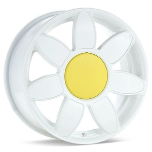 Flower Wheels for Your Volkswagen Beetle
