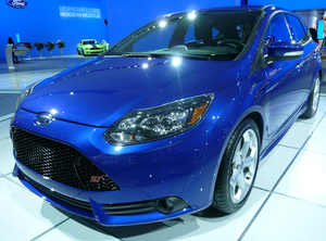 Preliminary Look at 2013 Ford Focus ST