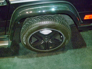 All-Season Tires for the 2013 Mercedes-Benz G63 AMG