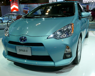 The Prius c Looks Better with New Wheels