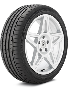 Continental ContiSportContact 3 SSR 245/45-18 Tire