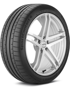 Continental SportContact 6 265/35-22 XL Tire