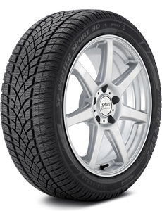Dunlop SP Winter Sport 3D DSST RunOnFlat 245/45-18 XL Tire