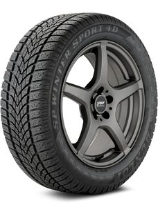 Dunlop SP Winter Sport 4D 225/50-17 XL Tire