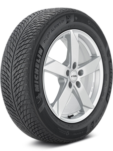 Michelin Pilot Alpin 5 SUV ZP 225/60-18 XL Tire