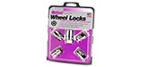 24022 Chrome Ultra and E.T. Wheel Lock Set M12x1.5