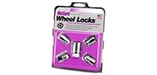 24196 Chrome Cone Seat Wheel Lock Set M12x1.5