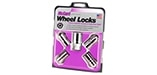 24215 Chrome Cone Seat Wheel Lock Set M14x1.5