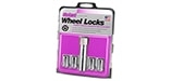 25257 Chrome Tuner Style Cone Seat Wheel Lock Set M12x1.5