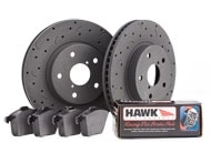 Hawk Talon HP Plus Brake Kit