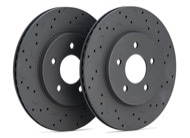 Hawk Talon Rotors - Slotted & Drilled