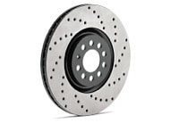 StopTech Cryo-SportStop Drilled Rotor