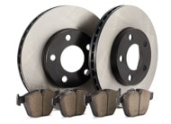 TR Select Kits Akebono Euro Ceramic Pads & Centric 120 Series Rotors