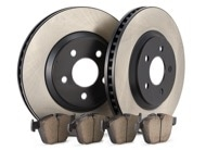 TR Select Kits Akebono Euro Ceramic Pads & Centric 125 Series Rotors