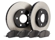 TR Select Kits Akebono ProAct Ceramic Pads & Centric 120 Series Rotors