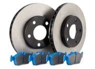TR Select Kits Hawk Blue 9012 Pads & Centric 120 Series Cryo Rotors