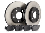 TR Select Kits Hawk DTC-60 Pads & Centric 120 Series Rotors