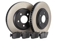TR Select Kits Hawk DTC-60 Pads & Centric 125 Series Rotors