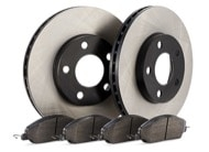 TR Select Kits Hawk HPS 5.0 Pads & Centric 120 Series Cryo Rotors