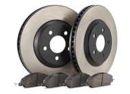 TR Select Kits Hawk HPS 5.0 Pads & Centric 125 Series Rotors