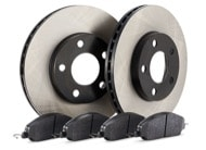TR Select Kits Hawk HPS Pads & Centric 120 Series Cryo Rotors