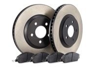 TR Select Kits Hawk HPS Pads & Centric 125 Series Rotors