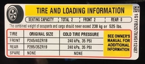 Tire Tech Information - Spare Tire Extinction?